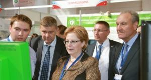 Визит  Министра здравоохранения РФ В.И. Скворцовой